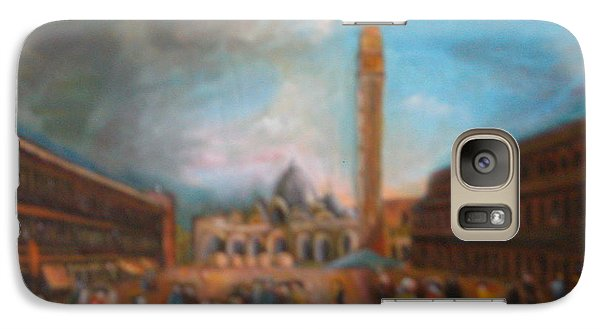 Galaxy Case featuring the painting Venice by Egidio Graziani