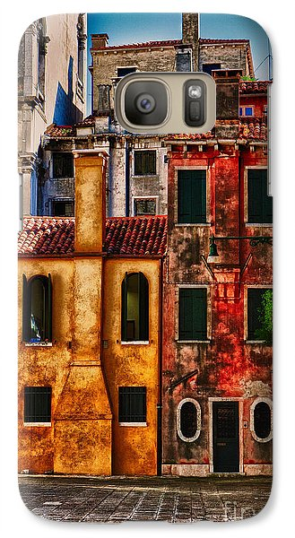 Galaxy Case featuring the photograph Venice Homes by Jerry Fornarotto