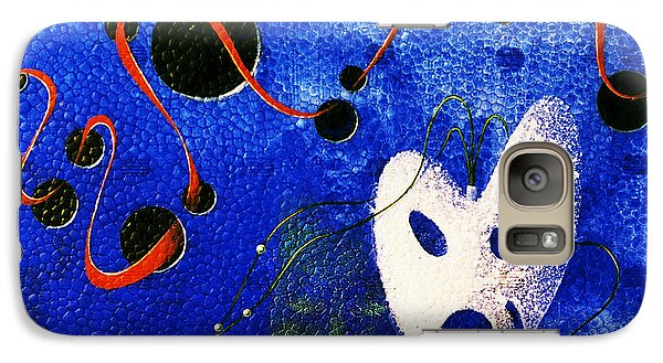 Galaxy Case featuring the painting Venice Is Dying by Hartmut Jager