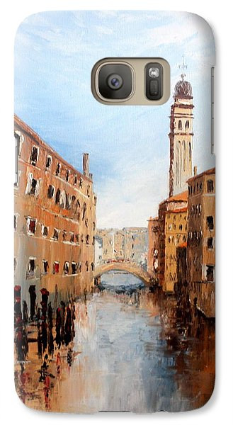Galaxy Case featuring the painting Venice Italy by Jean Walker
