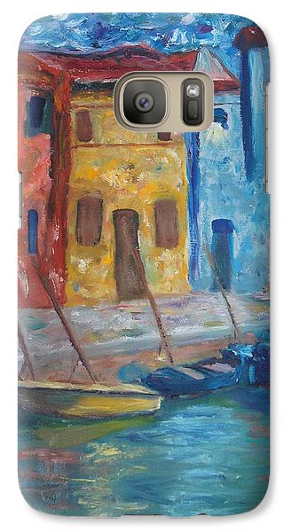 Galaxy Case featuring the painting Portofino by Kristine Bogdanovich