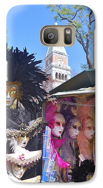 Galaxy Case featuring the photograph Venice Series 1 by Ramona Matei