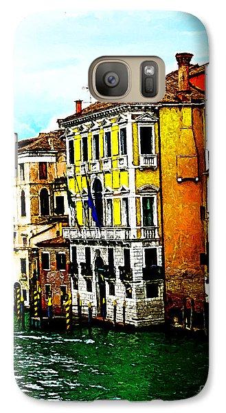 Galaxy Case featuring the digital art Venice - Venezia by Ze  Di