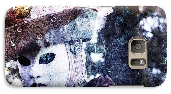 Galaxy Case featuring the photograph Venitian Carnival - I Love Mystery by Barbara Orenya