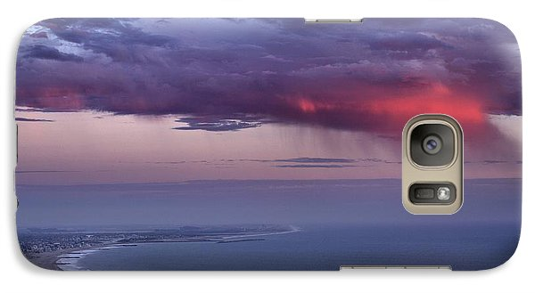 Galaxy Case featuring the photograph Ventura Beach by Michael Gordon