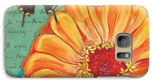 Verdigris Floral 1 Galaxy S7 Case