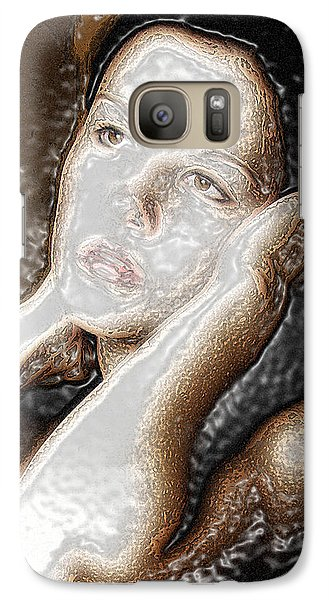Galaxy Case featuring the photograph Verity Unmasked by Richard Thomas