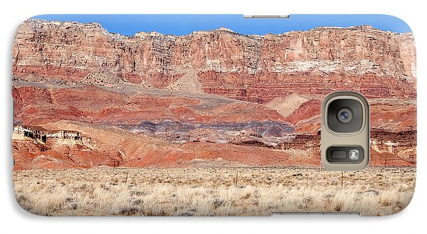 Galaxy Case featuring the photograph Vermillion Cliffs Colors by Bob and Nancy Kendrick