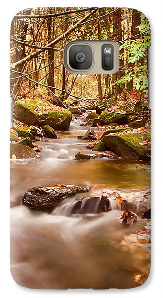 Galaxy Case featuring the photograph Vermont Stream by Jeff Folger