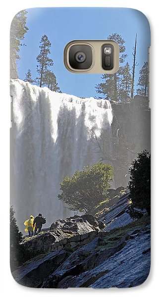 Galaxy Case featuring the photograph Vernal Falls Mist Trail by Duncan Selby