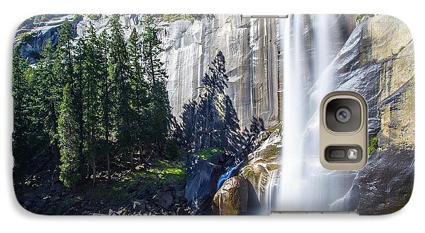 Galaxy Case featuring the photograph Vernal Falls Yosemite by Mike Lee