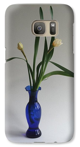 Galaxy Case featuring the photograph Vernal Grace by Patricia Overmoyer