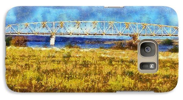 Galaxy Case featuring the digital art Vernita Bridge by Kaylee Mason
