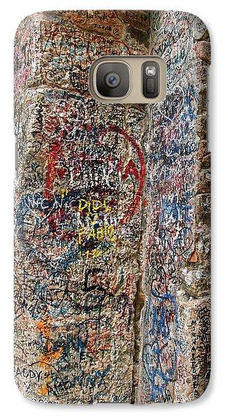Galaxy Case featuring the photograph Verona Italy Locks Of Love by Robin Maria Pedrero