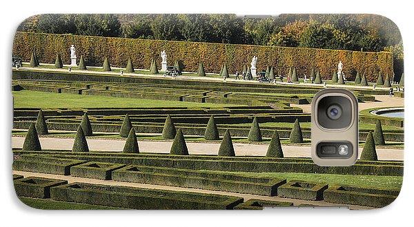 Galaxy Case featuring the photograph Versailles Gardens by Glenn DiPaola