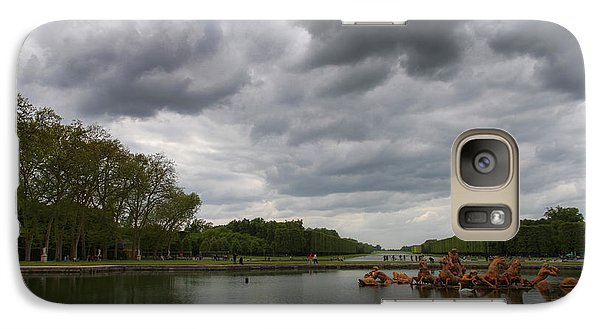 Galaxy Case featuring the photograph Versailles Storm by Ross Henton