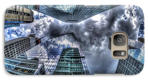 Galaxy Case featuring the photograph Vertigo In Nyc by Rafael Quirindongo