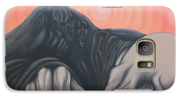 Galaxy Case featuring the painting Vertigo by Michael  TMAD Finney