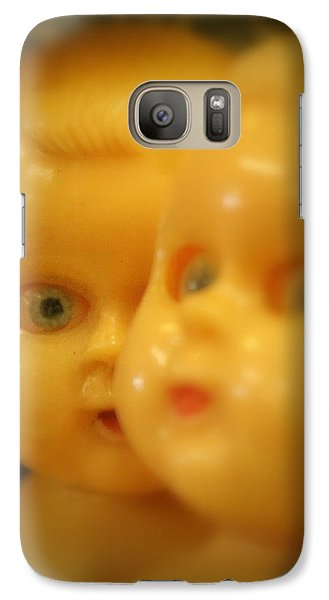Galaxy Case featuring the photograph Very Scary Doll by Lynn Sprowl