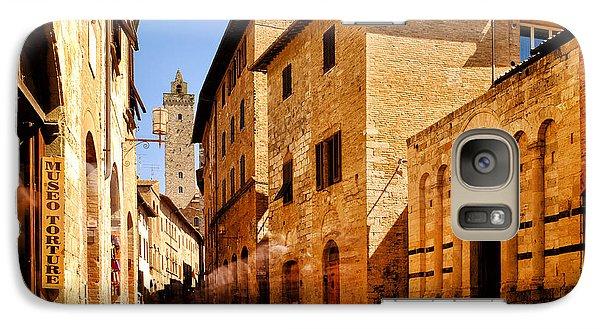 Galaxy Case featuring the photograph Via San Giovanni by Fabrizio Troiani
