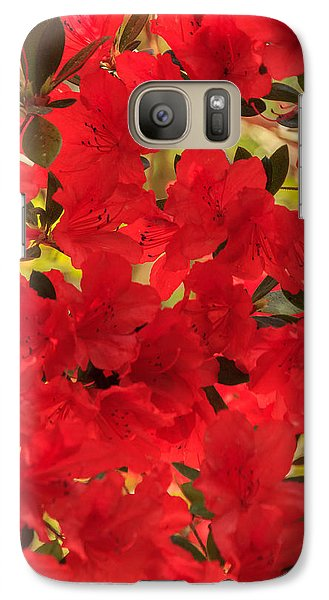 Galaxy Case featuring the photograph Vibrant Azalea by Patricia Schaefer