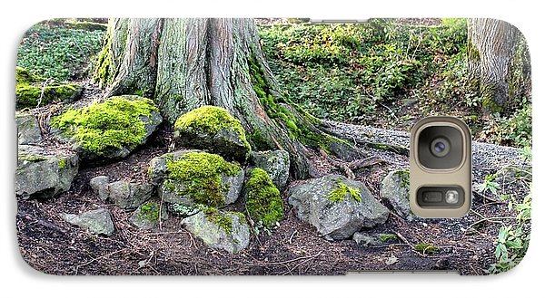 Galaxy Case featuring the photograph Vibrant Green Moss by Jeanne Kay Juhos