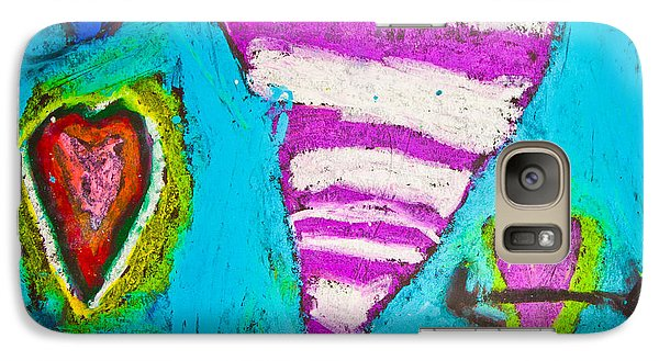 Galaxy Case featuring the photograph Vibrant Love by Sara Frank