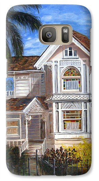 Galaxy Case featuring the painting Victorian House by LaVonne Hand