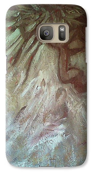 Galaxy Case featuring the painting Victory by Christy Saunders Church