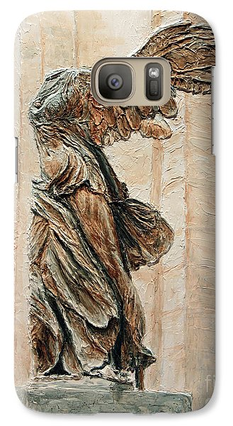 Louvre Galaxy S7 Case - Victory Of Samothrace by Joey Agbayani