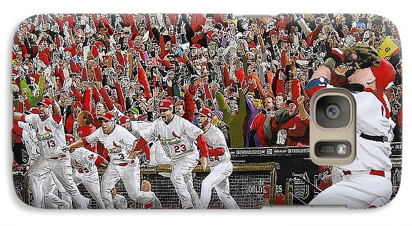 Victory - St Louis Cardinals Win The World Series Title - Friday Oct 28th 2011 Galaxy S7 Case