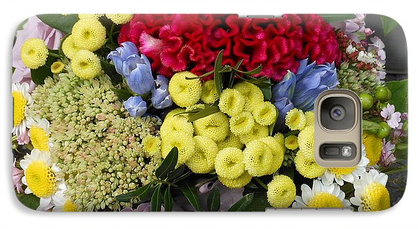 Galaxy Case featuring the photograph Vienna Bouquet by Kay Gilley