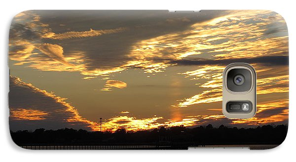 Galaxy Case featuring the photograph View At The Pier by Joetta Beauford