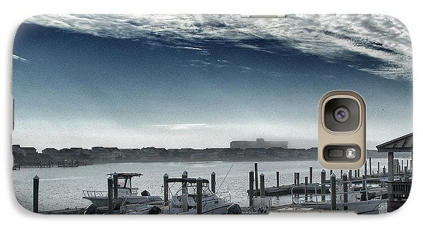 Galaxy Case featuring the photograph View From A Bridge by Phil Mancuso