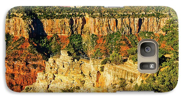 Galaxy Case featuring the photograph View From Angel Point  by Bob and Nadine Johnston