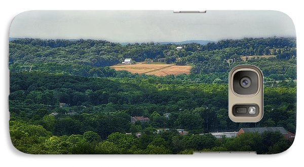 Galaxy Case featuring the photograph View From Goat Hill by Debra Fedchin