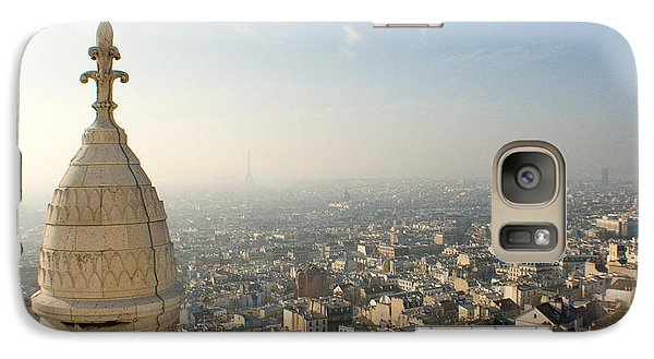 Galaxy Case featuring the photograph View From Montmartre by Jon Emery