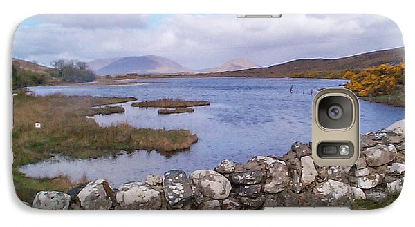 Galaxy Case featuring the photograph View From Quiet Man Bridge Oughterard Ireland by Charles Kraus