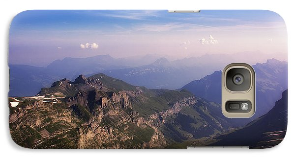 Galaxy Case featuring the photograph View From Schilthorn by Wade Aiken