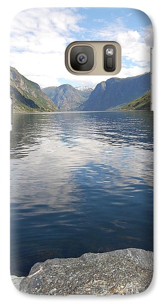 Galaxy Case featuring the photograph View From The Village by Linda Prewer