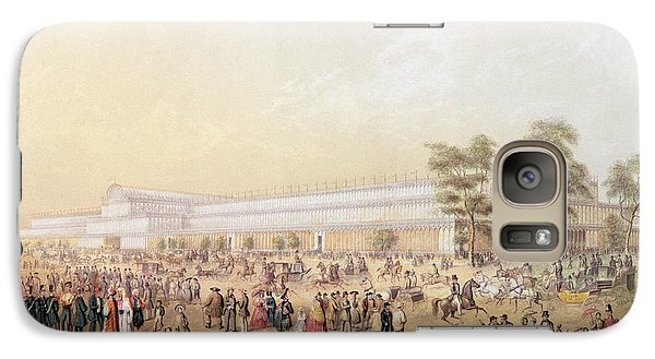 View Of The Crystal Palace Galaxy Case by George Baxter