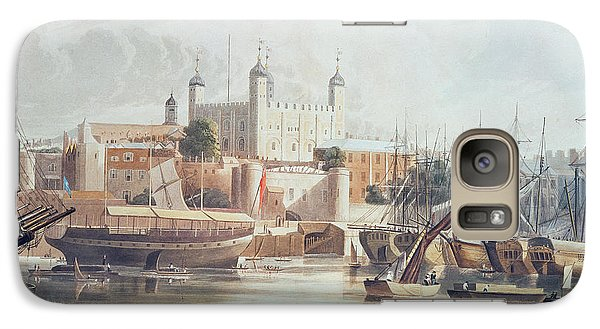 View Of The Tower Of London Galaxy Case by John Gendall