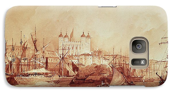 View Of The Tower Of London Galaxy S7 Case