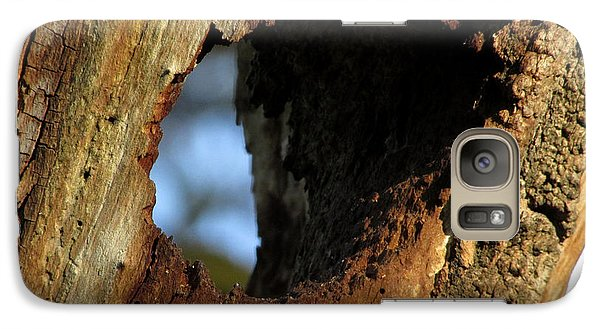 Galaxy Case featuring the photograph View Through A Tree by Kimberly Mackowski