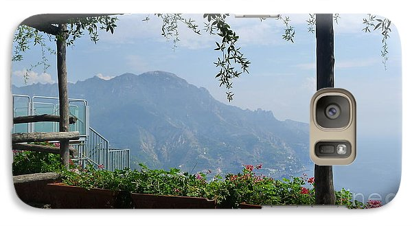Galaxy Case featuring the photograph Villa Rufolo Ravello by Nora Boghossian
