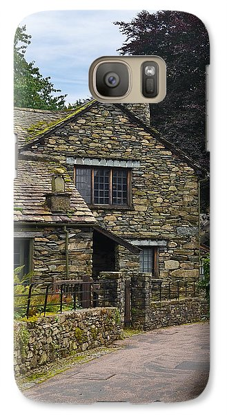 Galaxy Case featuring the photograph Village Street Grasmere by Jane McIlroy