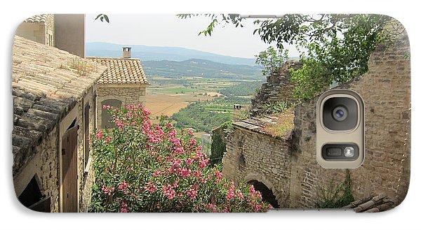 Galaxy Case featuring the photograph Village Vista by Pema Hou