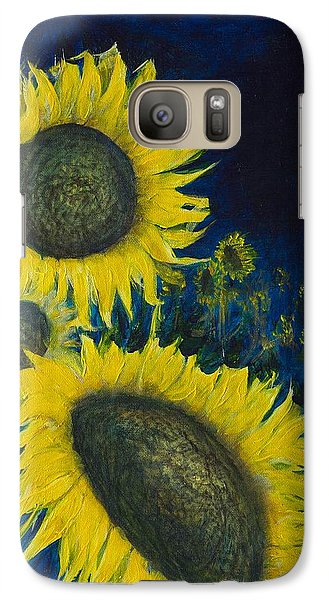 Galaxy Case featuring the painting Vincent Remembered by Cathy Long