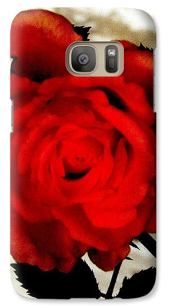 Galaxy Case featuring the photograph Vine And Rose 3 by Gayle Price Thomas