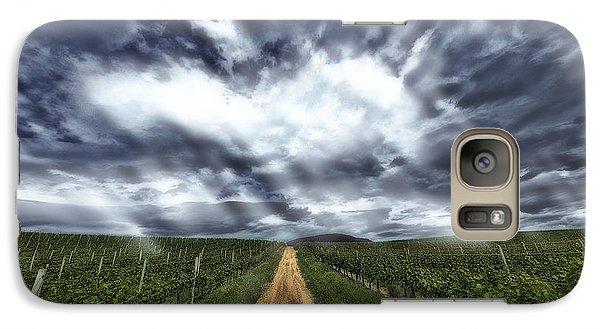 Galaxy Case featuring the photograph Vineyard Walk by Thomas Born